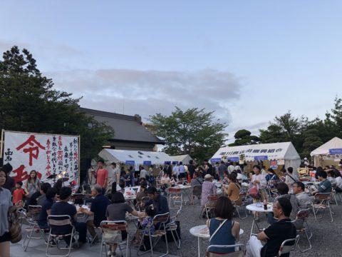 湯倉神社会場